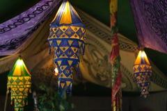 Lanternas indianas imagem de stock