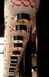 Lanternas japonesas em Kyoto fotografia de stock royalty free