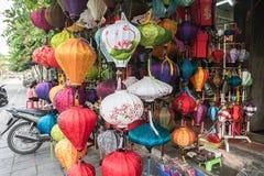 lanternas Multi-coloridas de Hoi An, Vietname Fotografia de Stock