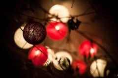 Lanternas suspendidas imagem de stock