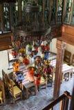Lanternas turcas coloridos tradicionais imagem de stock