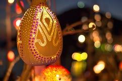 Lanternas turcas tradicionais, Gumusluk, Turquia Foto de Stock