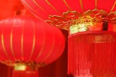 Lanternas vermelhas foto de stock royalty free