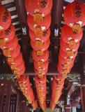Lanternas vermelhas Imagem de Stock