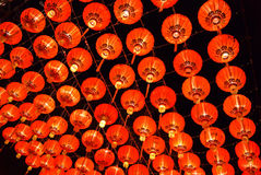 Lanternas chinesas. Imagens de Stock Royalty Free