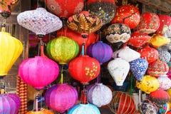 Lanternas vietnamianas fotografia de stock