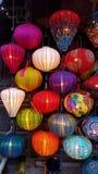 Lanternas vietnamianas fotografia de stock royalty free