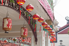 Lanterne à Penang Photographie stock libre de droits