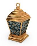 Lanterne arabe avec le modèle d'arabesque Photo libre de droits
