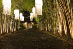 Lanterne asiatiche. Fotografia Stock