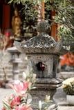 Lanterne au temple, Hanoo, Vietnam photos stock