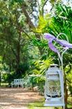 Lanterne blanche Photographie stock libre de droits