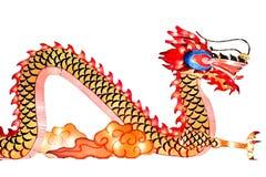 Lanterne chinoise de dragon Photographie stock libre de droits