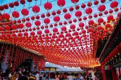 Lanterne chinoise de nouvelle année Photographie stock libre de droits