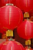 Lanterne chinoise rouge Photographie stock