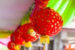 Lanterne chinoise rouge Image stock