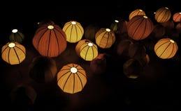 Lanterne cinesi Fotografie Stock Libere da Diritti
