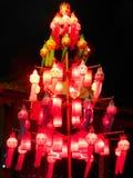 Lanterne cinesi in Chiang Saeng Immagini Stock Libere da Diritti