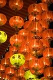 Lanterne cinesi di nuovo anno Fotografia Stock