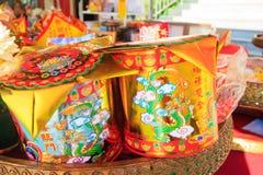 Lanterne cinesi nel giorno cinese dei nuovi anni Fotografia Stock