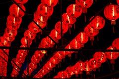 Lanterne cinesi per il nuovo anno cinese Immagini Stock