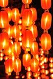 Lanterne cinesi per il nuovo anno cinese Fotografie Stock Libere da Diritti