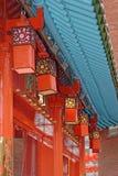Lanterne cinesi rosse Immagine Stock Libera da Diritti