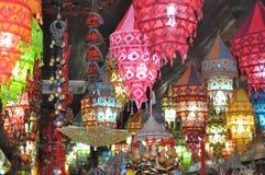 Lanterne colorée Images libres de droits