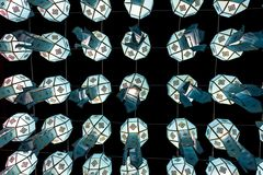 Lanterne colorée Photographie stock