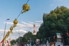 Lanterne colorée, festival de YI Peng ou de Loy Krathong Photos stock
