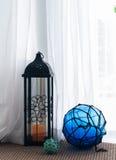 Lanterne d'ouragan Image libre de droits