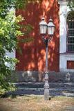 Lanterne dans l'allée Photos stock