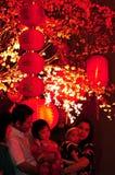 Lanterne dans le palais d'empire Photos stock
