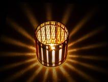 Lanterne de bougie Photo libre de droits