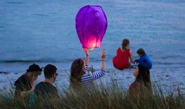 Lanterne de ciel Photos libres de droits