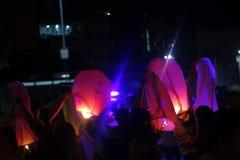 Lanterne de ciel Images libres de droits
