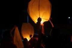 Lanterne de ciel Images stock