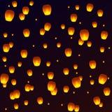 Lanterne de ciel Image stock