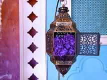 Lanterne de cuivre Photographie stock libre de droits
