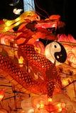 Lanterne de dragon Photographie stock libre de droits