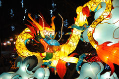 Lanterne de dragon Image libre de droits