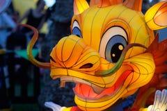 Lanterne de dragon Photos stock