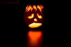 Lanterne de Halloween Jack o Photographie stock