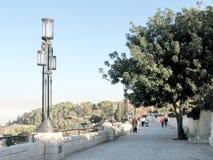 Lanterne de Jérusalem sur la promenade 2010 de Haas Photos libres de droits