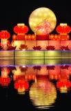 Lanterne de lune de festival Photo stock