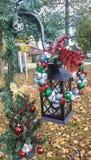 Lanterne de Noël photo libre de droits