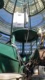 Lanterne de phare du phare d'Abscon à Atlantic City NJ images stock