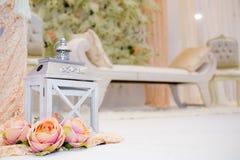 Lanterne de Rose Image stock