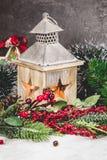 Lanterne de vacances Photos libres de droits