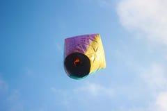 Lanterne del cielo Fotografie Stock